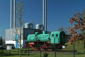 Dampfspeicherlock in Eilenburg - Technisches Denkmal