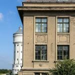 Eilenburg - Industriegeschichte. ehemaliges ECW und unter Denkmalschutz stehender Wasserturm