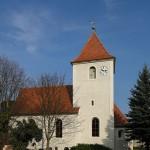 Kirche in Behlitz, ein romantischer Ortsteil von Eilenburg