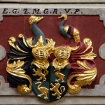 Detail Taufstein Marienkirche zu Eilenburg