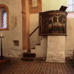 Wehrkirche Wasewitz in der Nähe von Eilenburg - Kanzel
